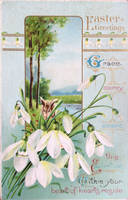 Snowdrops for Grace, Mercy, Peace by Yesterdays-Paper