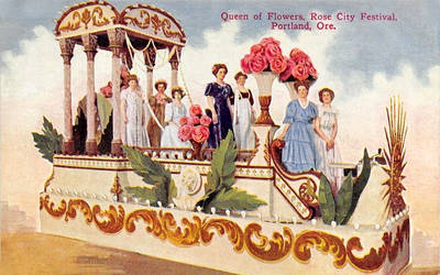 Vintage Oregon - Queen of the Rose City Festival