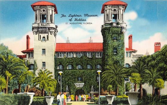 Vintage Florida - Lightner Museum, St. Augustine
