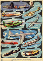 Vintage Flying Machines by Yesterdays-Paper