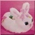 Fluffy Bunny Icon - Pink