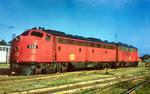 Vintage Kansas - M-K-T Railroad Diesel Locomotives by Yesterdays-Paper