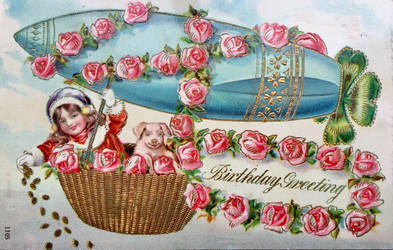Lucky Birthday Airship by Yesterdays-Paper