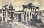 Vintage Europe - The Forum, Rome by Yesterdays-Paper