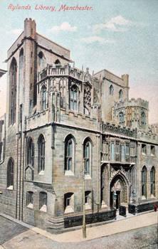 Vintage UK - Rylands Library, Manchester