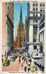 Vintage New York - Wall St. and Trinity Church