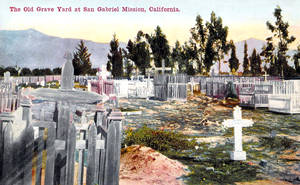 Vintage Los Angeles - Old Mission Cemetery