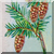 Vintage Pinecones Icon by Yesterdays-Paper