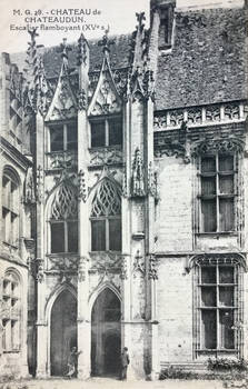 Vintage France - Chateau of Chateaudun
