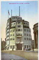 Vintage UK - Broadcasting House, London by Yesterdays-Paper