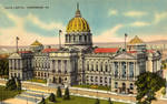 Vintage Pennsylvania - State Capitol, Harrisburg