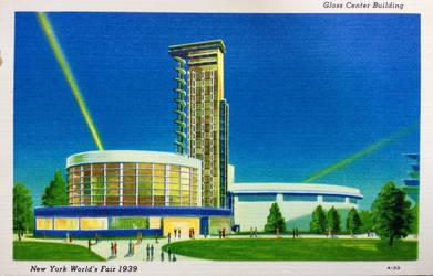 Vintage New York - Glass Center, NY Worlds Fair