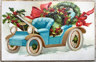 Santa's Lil' Helper by Yesterdays-Paper