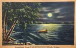 Night Scene Postcards - Moonlight on Sandy River