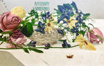 Birthday Basket and Butterfly by Yesterdays-Paper