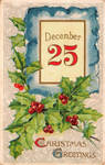 Vintage Christmas - Nurse Katheryne's Kalender