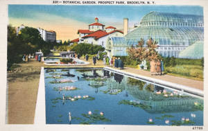 Vintage New York - Botanical Garden, Prospect Park