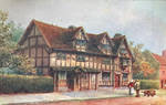 Vintage UK - Shakespeare Birthplace by Yesterdays-Paper