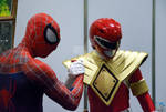 Spiderman and Power Ranger