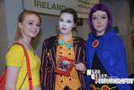 Misty, Joker and Raven at Dublin Comic Con 2014