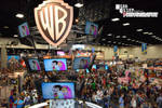 View from Warner Bros Booth (San Diego Comic Con)
