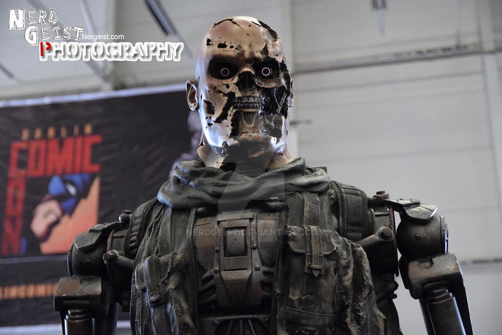 Terminator at Dublin Comic Con 2014