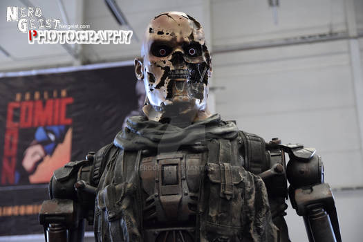 Terminator at Dublin Comic Con 2014