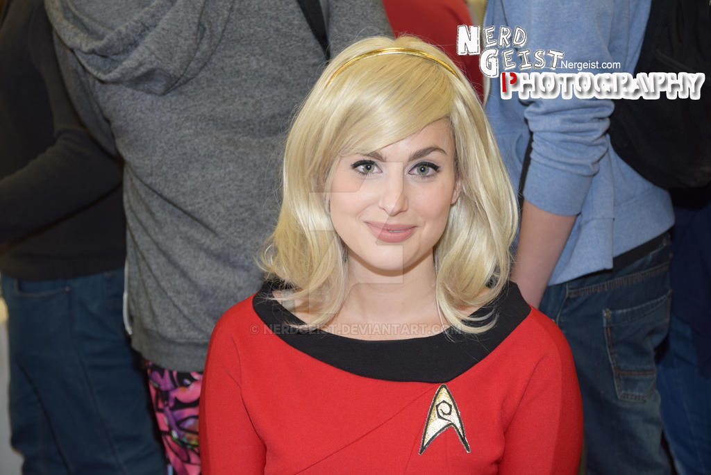 Meagan Marie Star Trek cosplay at Dublin Comic Con