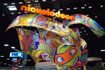 Nickelodeon Booth at San Diego Comic Con 2014