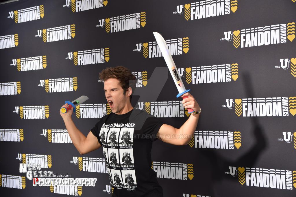 Nathan Kress at MTV U Fandom Awards (SDCC 2014)