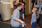 Eugene Simon and young fan at TitanCon 2014