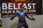 Nightwing at Belfast Film and Comic Con 2014