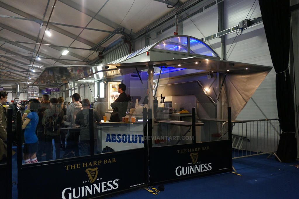 Guinness bar at MCM Belfast Comic Con
