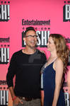 Tom Cavanagh and Danielle Panabaker at EW Party