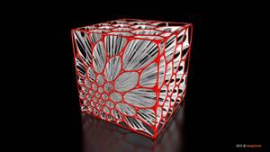 Voronoi Cube (Shape105)