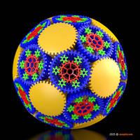 Gear Sphere - Planetary Gears (No.114) by asopticom