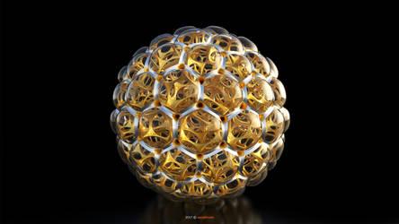 Voronoi 3d sphere (130)