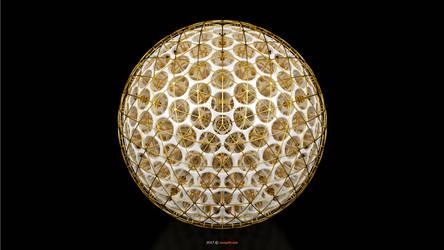Voronoi 3D - Delaunay 3D Sphere (131-A)