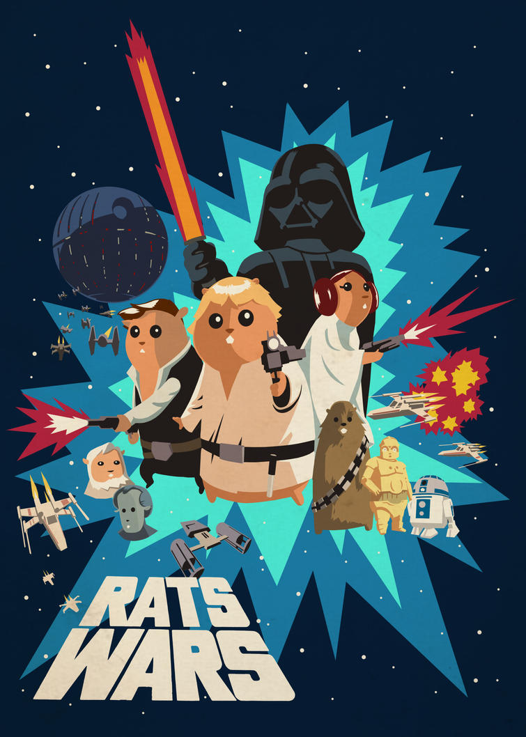 RATS-WARS: A New Hope by Fuacka