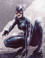 Catwoman1 by JoseRealArt