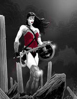 Wonder Woman by JoseRealArt