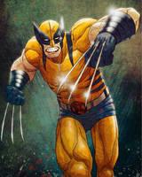 Wolverine by JoseRealArt