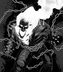 Ghost Rider by JoseRealArt