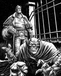 Hellboy and Demon