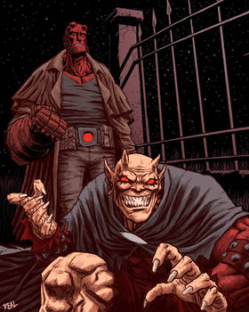 Hellboy and Etrigan