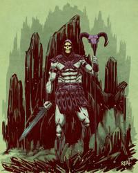 Skeletor by JoseRealArt