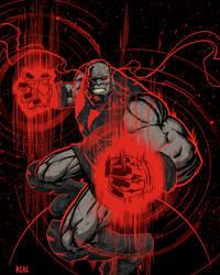 Darkseid by JoseRealArt