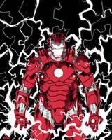 Iron Man by JoseRealArt