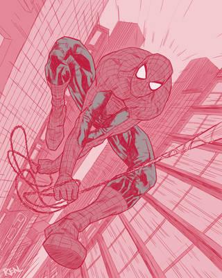 Spiderman by JoseRealArt