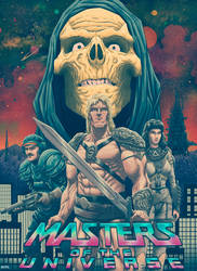 Masters of the Universe by JoseRealArt